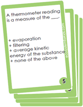 Energy Travels Flash Cards
