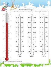 Games worksheets and quizzes on weather thermometer reading activity for kids in 1st grade pdf test ibookread Download