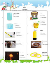 Printables Mixtures And Solutions Worksheets mixtures science activities worksheets games learn about with this worksheet for grade 2