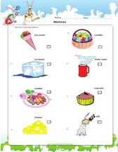 Printables Mixture Worksheet mixtures science activities worksheets games and separation methods worksheet pdf