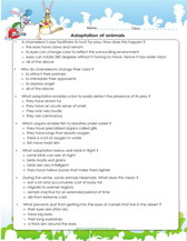 4th grade science worksheets pdf printable adaptation of animals worksheet for 4th grade ibookread