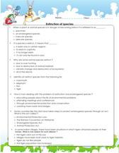 fossils worksheet pdf